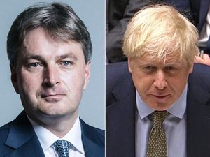 Daniel Kawczynski, left, and Boris Johnson