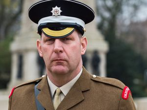 Garrison Sergeant Major Andrew Stokes