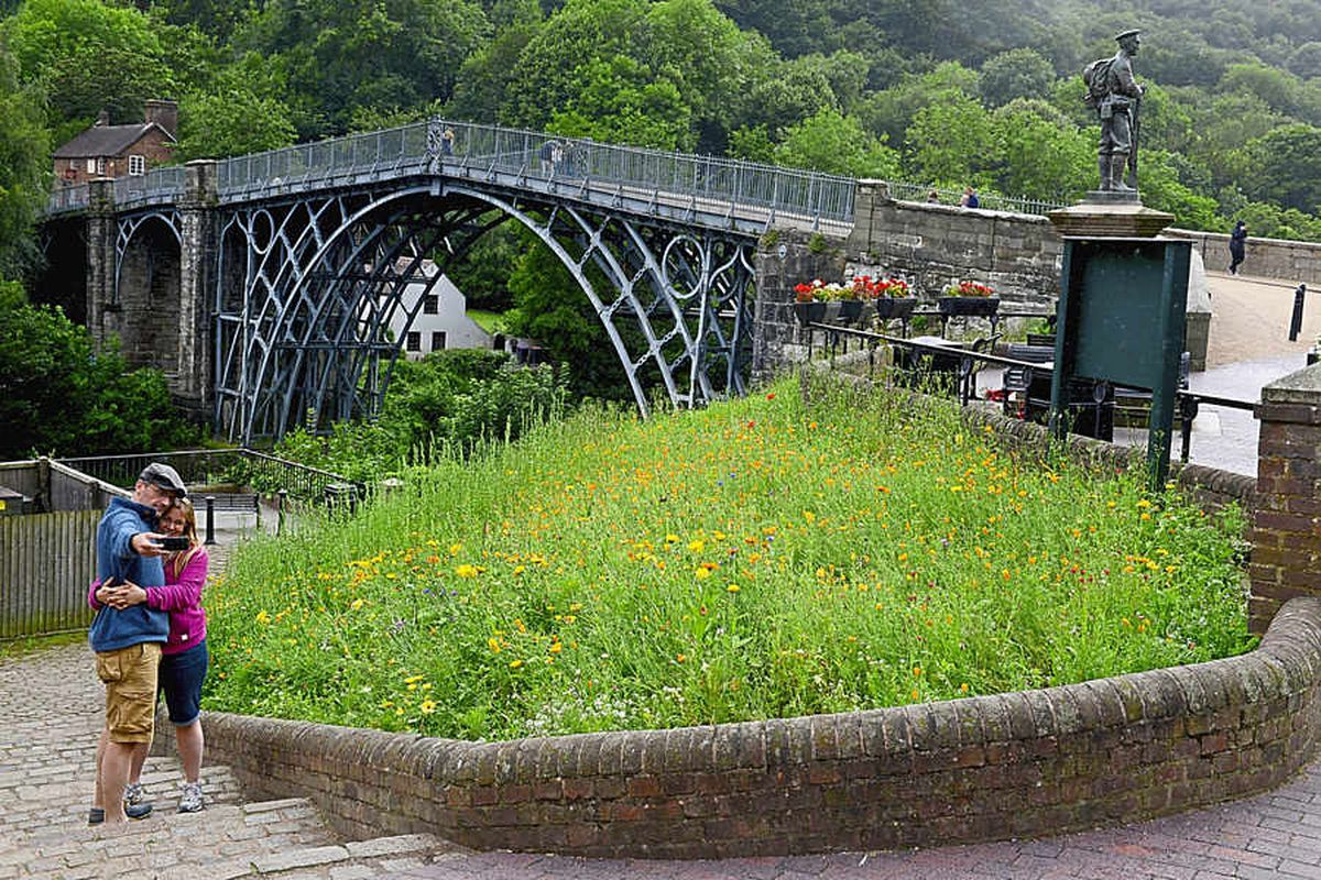 The Iron Bridge in Ironbridge