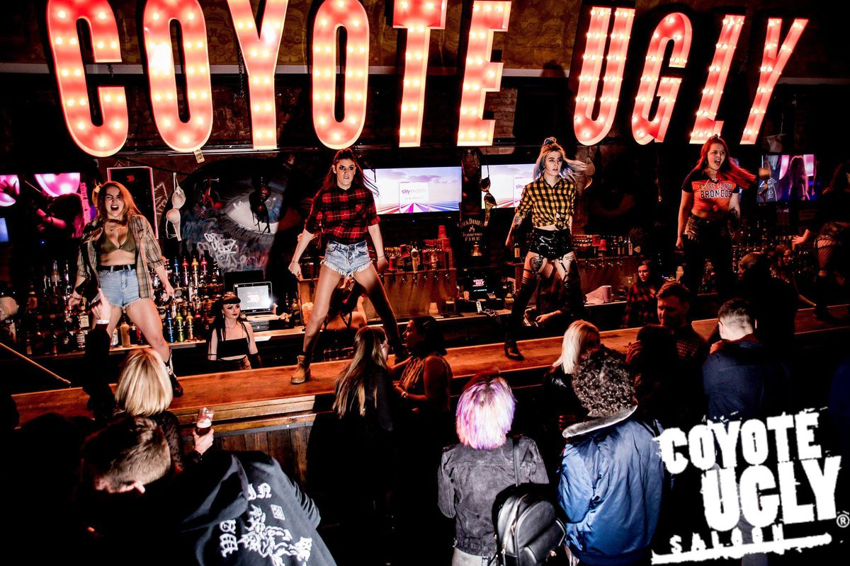 Coyote Ugly Saloon. Picture from: https://www.facebook.com/CoyoteUglySaloonsUK/