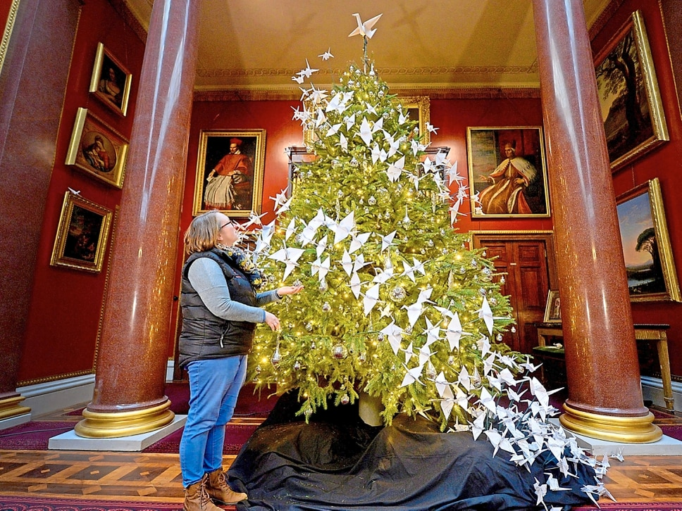 It's beginning to look a lot like Christmases past at Attingham Park