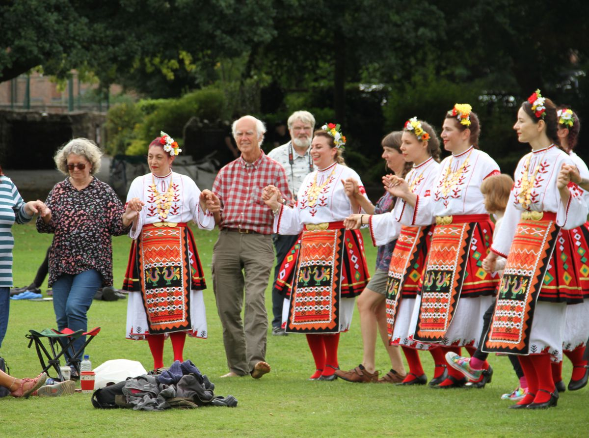Oswestry Bulgarian Dancers
