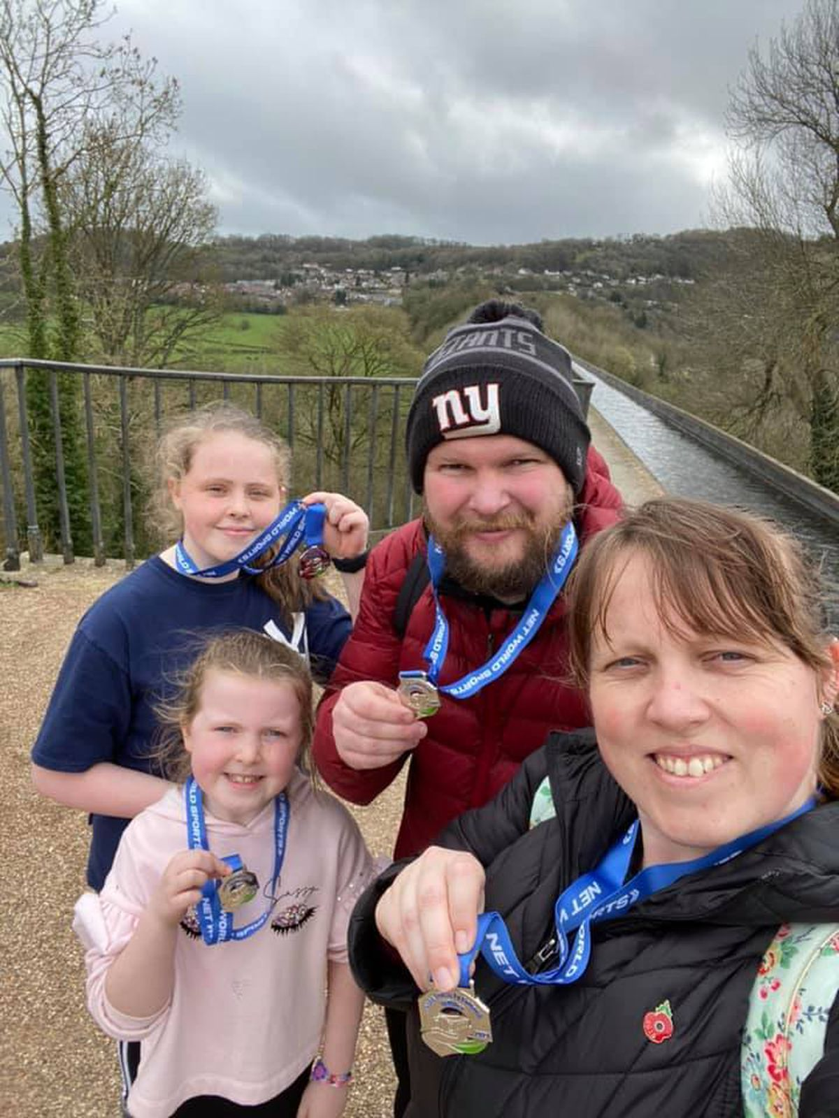 Walkers from across the region took part in the event, helping to raise nearly £30,000