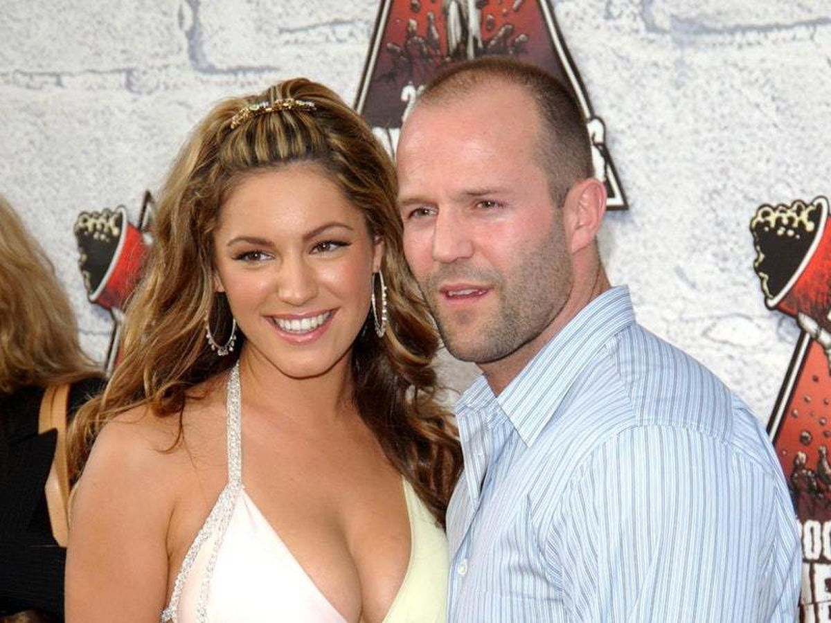 Kelly Brook and Jason Statham
