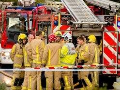 Three-vehicle crash on A518 in Telford