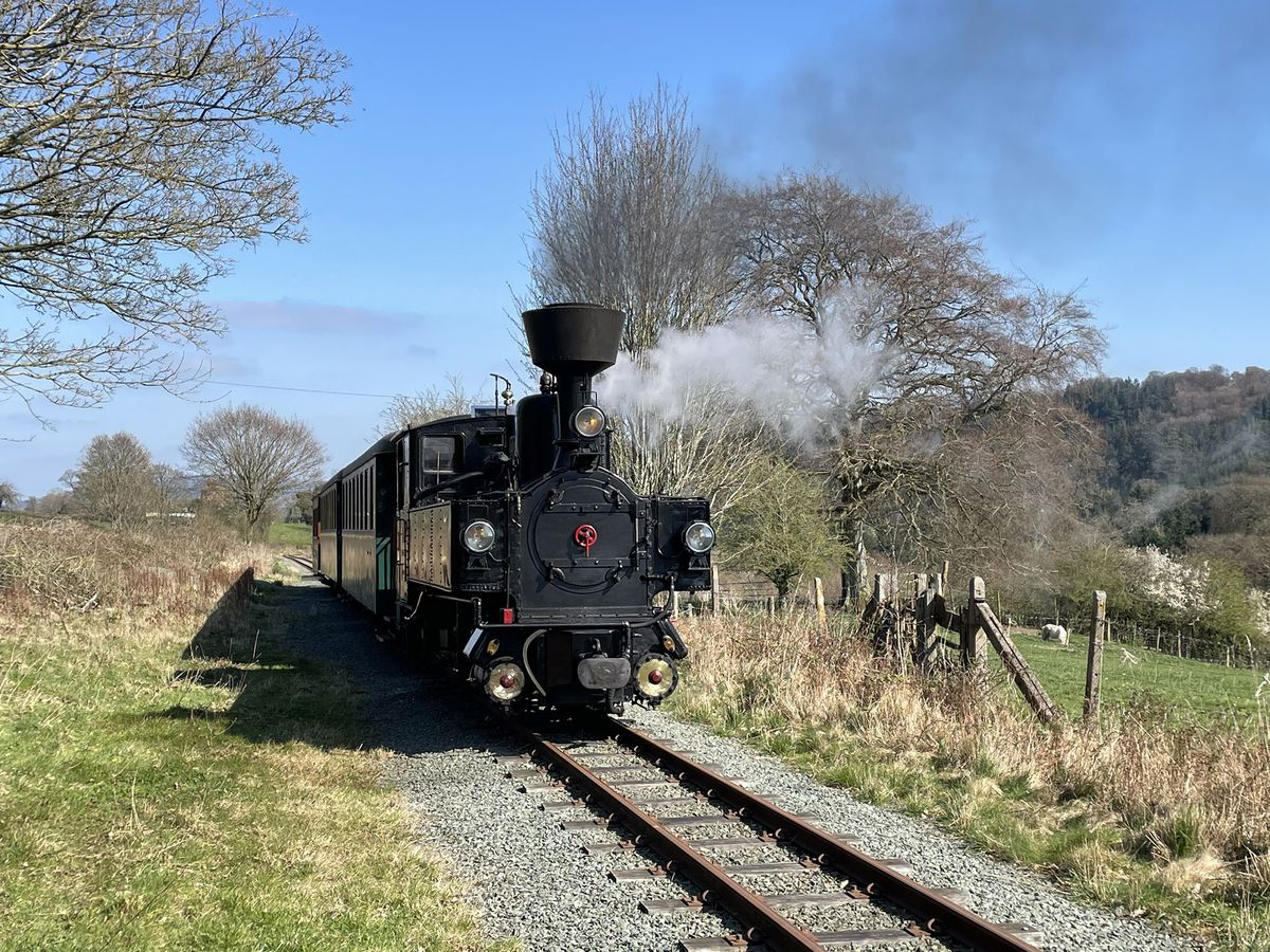 Welshpool & Llanfair Light Railway loco 'Zillertal'