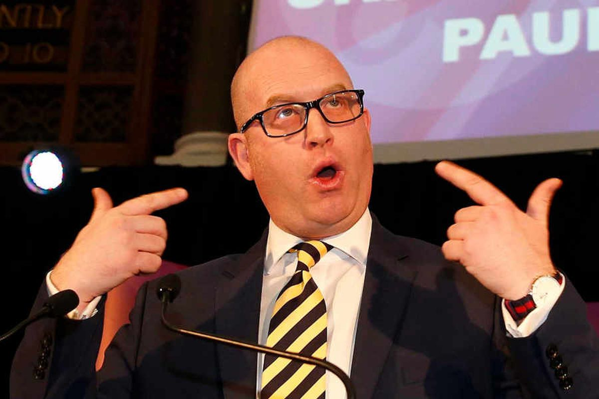 Mr Cash says there is now no credible future for Paul Nuttall's UKIP