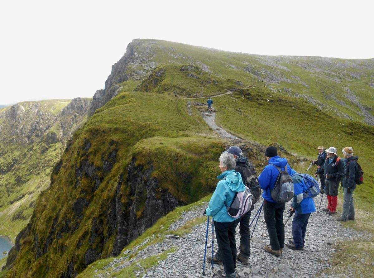 A pre-Covid breath of fresh air for a u3a walking group