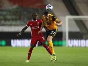 Romain Saiss of Wolverhampton Wanderers and Sadio Mane of Liverpool (AMA)