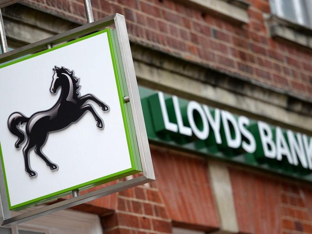Lloyds Banking Group reported a 13% increase in profits