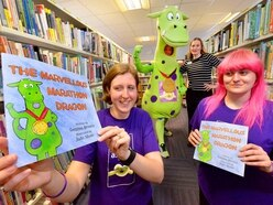 Cameron's Fund: Mum's charity book launched at Bridgnorth library - with pictures and video