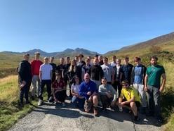 Apprentices get adventure training in Snowdonia