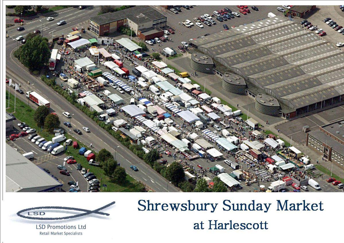 Shrewsbury's Sunday Market