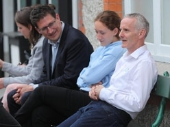 Green Party's Ciaran Cuffe 'not celebrating yet' as he looks set to top poll