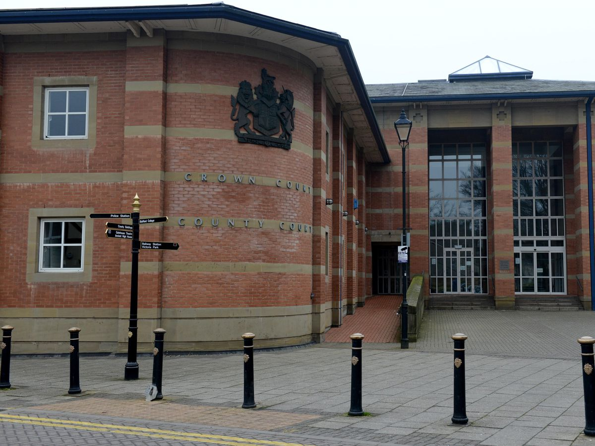 The hearing was at Stafford Crown Court