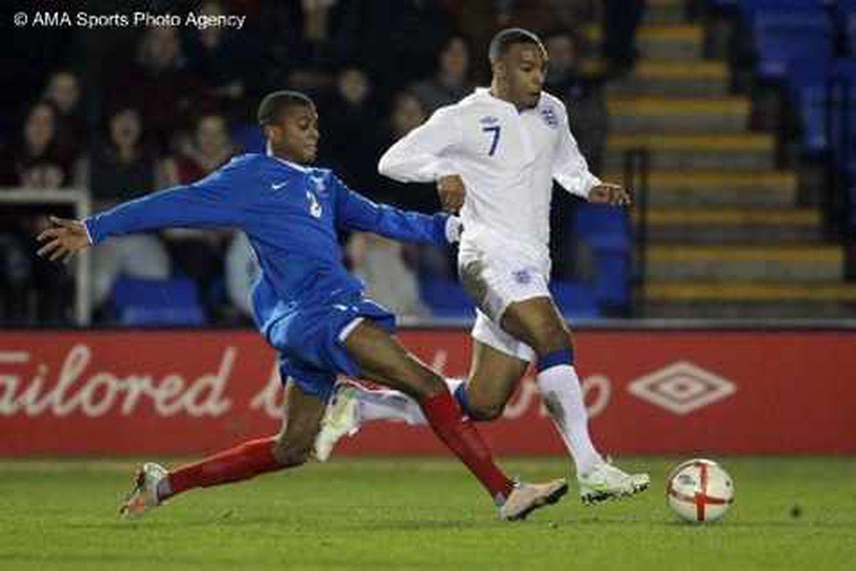 England U20s 1 France U20s 2