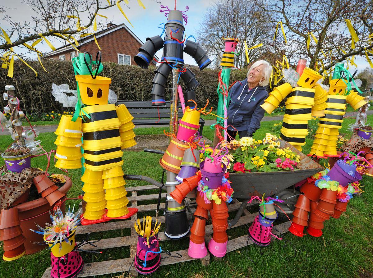 Jo Norton takes a closer look at the cheery display