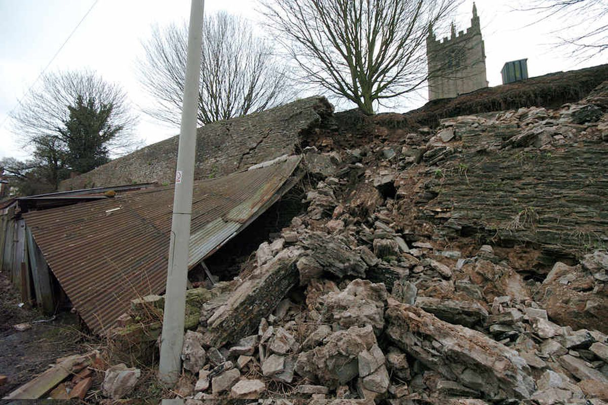 Agreement made over Ludlow's historic town walls repair
