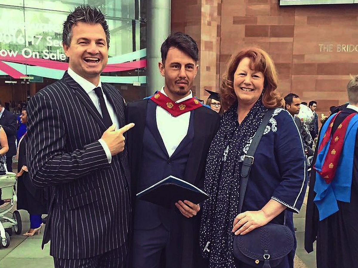 Ian, Callum and Jenny Ward