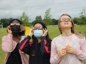 The science department at Concord College sent primary schools information and resource packs including sets of five eclipse glasses