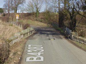 The bridge over the B4387. Photo: Google