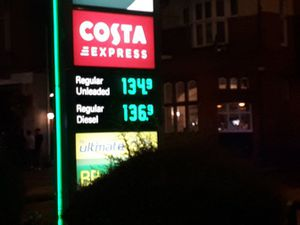 BP petrol station in Beatrice Street, Oswestry. Photo: @OsCops
