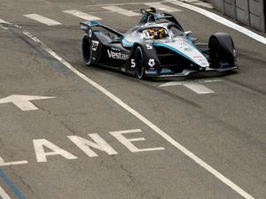 Mercedes-EQ Formula E in New York