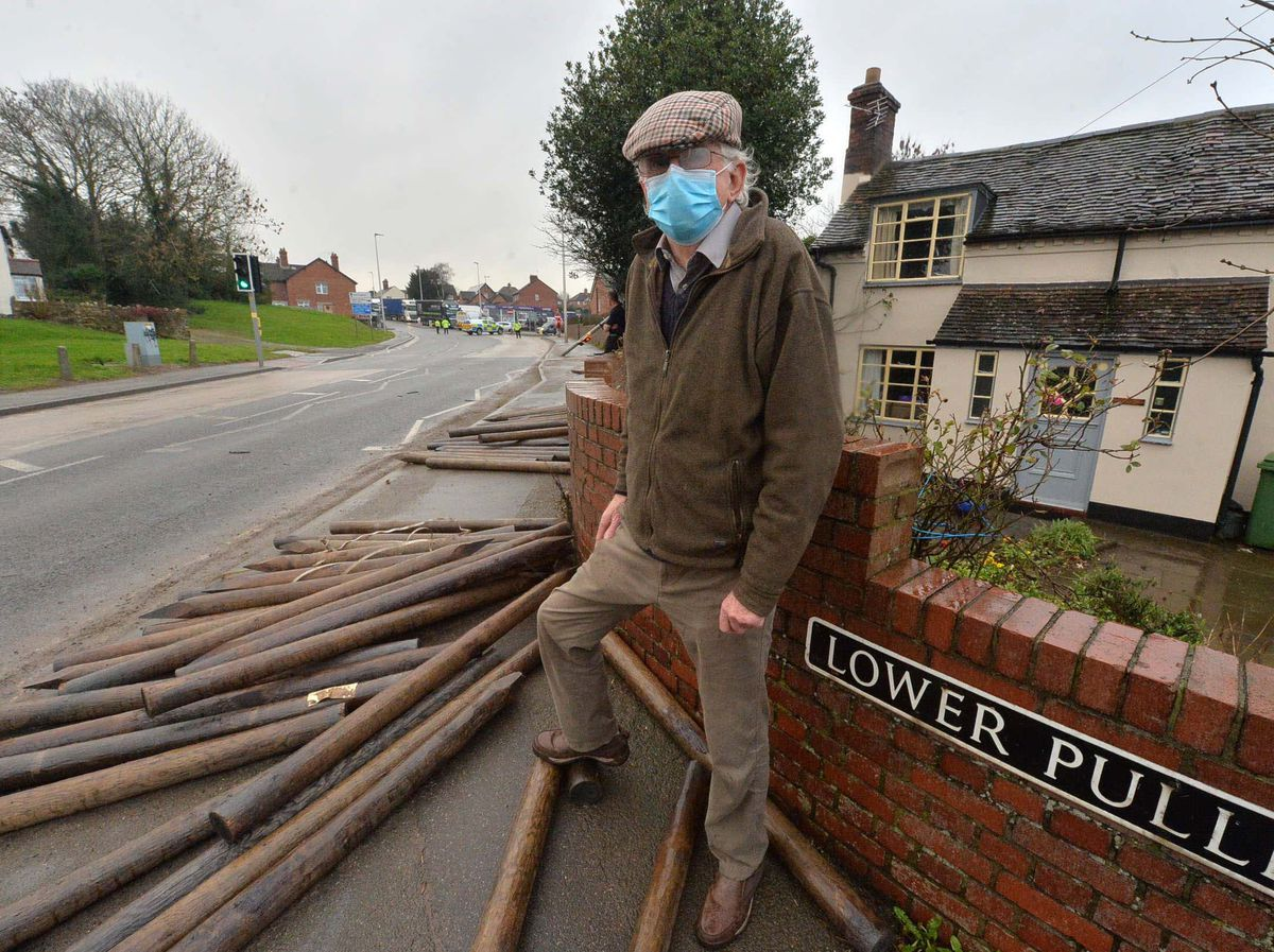 Reuben Metcalfe has put up with more than 50 years of crashes near his house