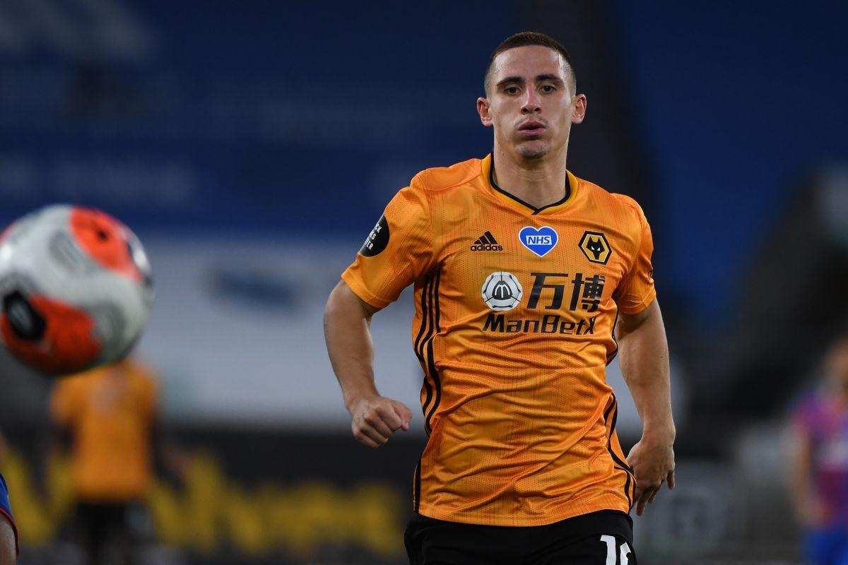 Daniel Podence of Wolverhampton Wanderers (AMA)