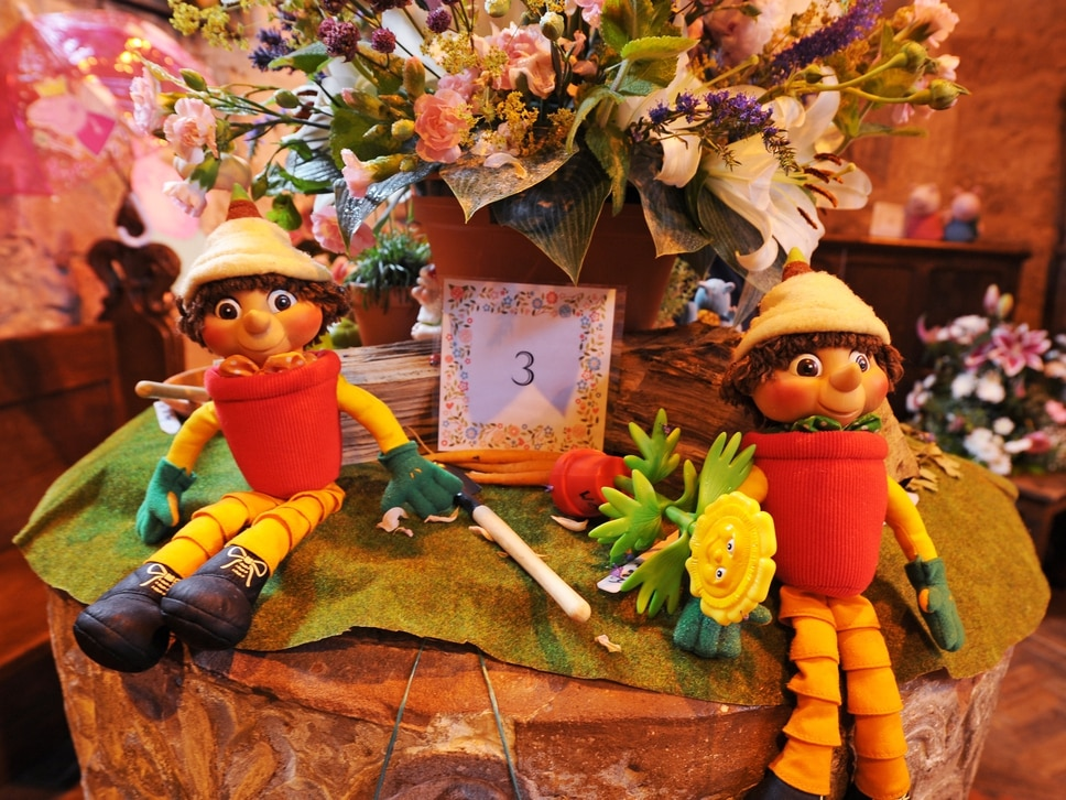 Claverley Flower Festival celebrates children's TV through the ages - in pictures