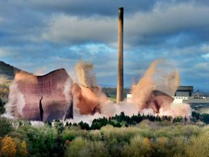 Ironbridge Power Station's cooling towers were destroyed in 2019.