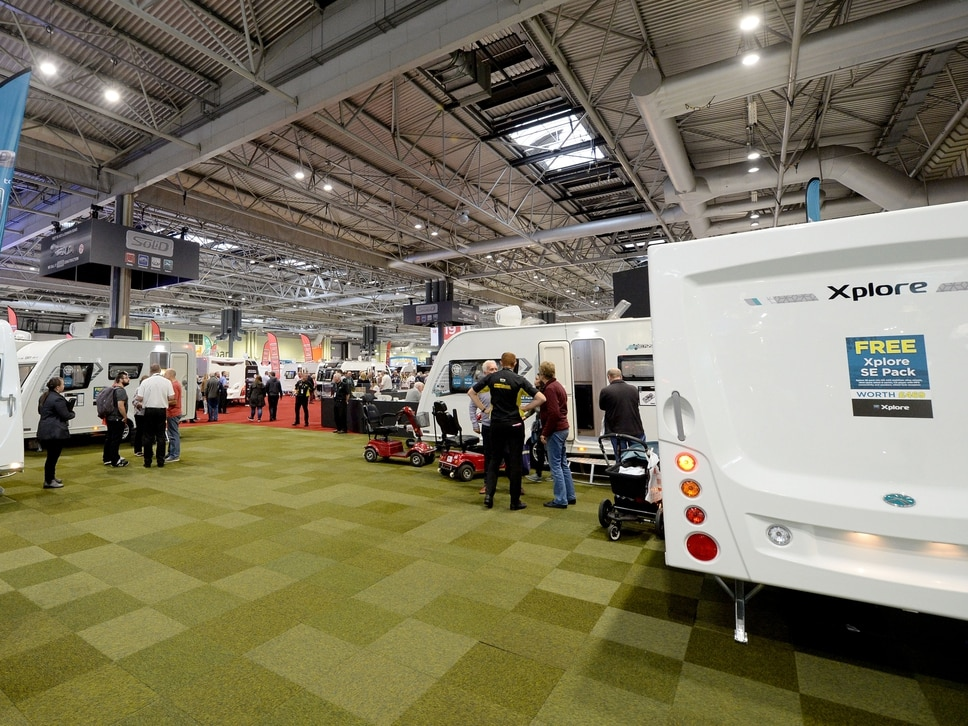 NEC caravan show: From £200k motorhomes to one made out of Lego bricks, find out what's on offer at this year's show