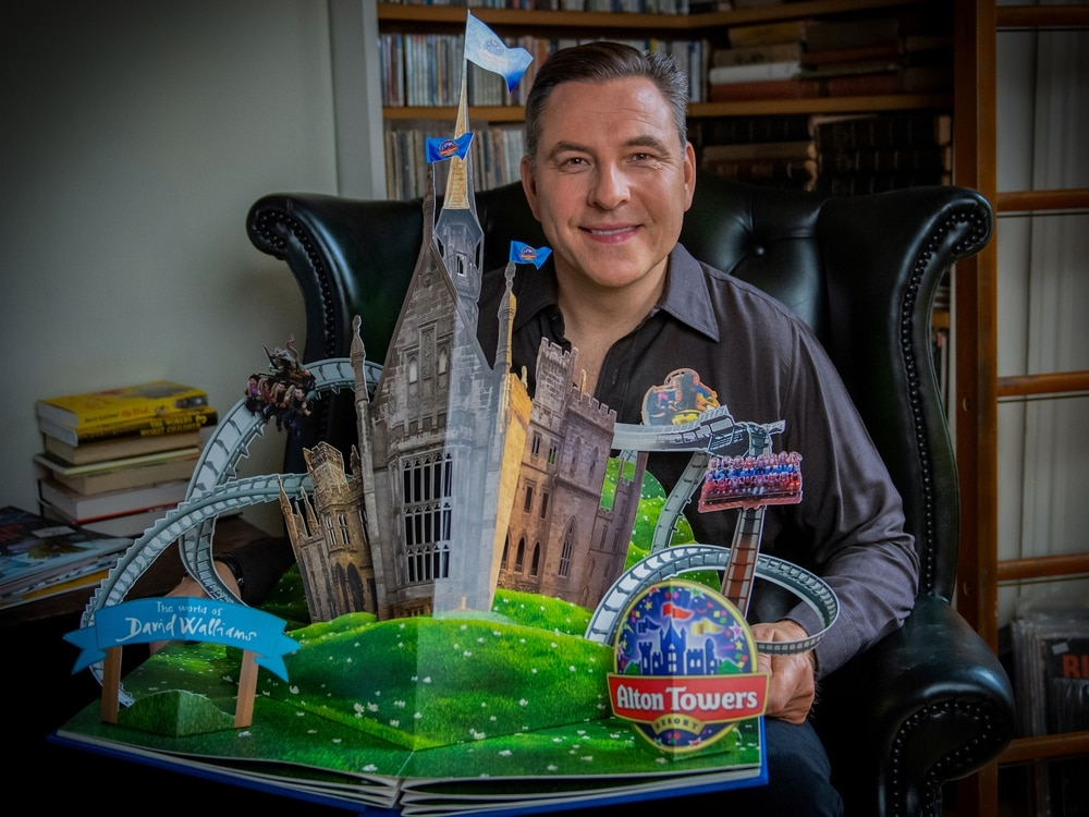 David Walliams partners with Alton Towers for new themed attraction opening next year