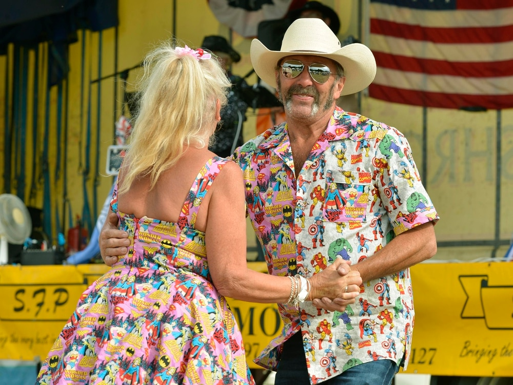 Country meets the countryside at village music festival