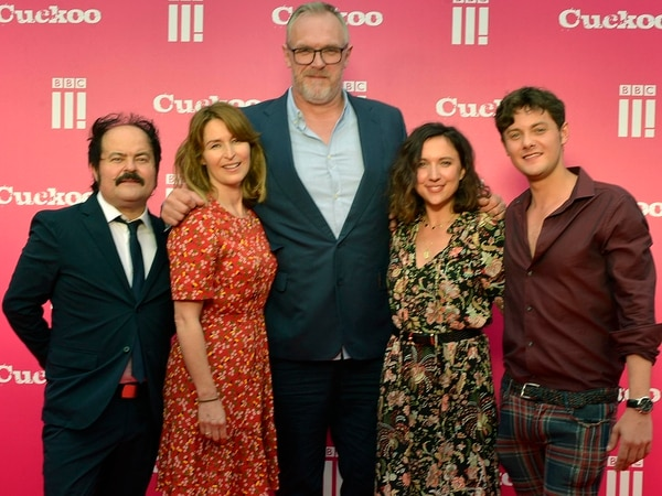 Shropshire's Greg Davies and other stars of BBC Three's Cuckoo in Midlands for premiere - in pictures