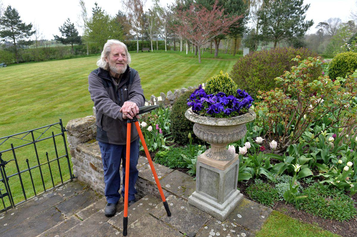 Gardener Danny Purchase