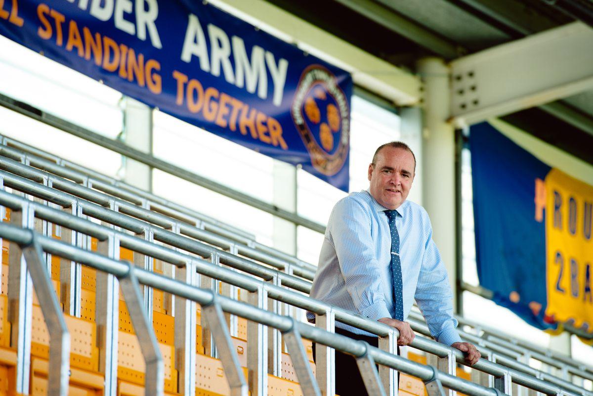 CEO Brian Caldwell