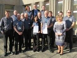 Shropshire hospital team achieves highest standards