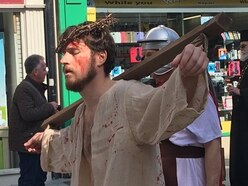 Story of the Crucifixion takes to streets of Shrewsbury