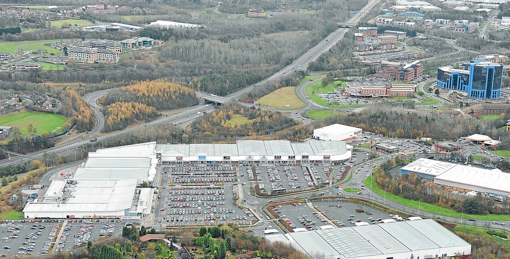 Telford town centre retail park sold as part of £400m deal