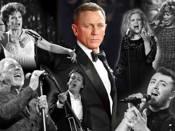 From Bassey to Billie: A history of Bond songs
