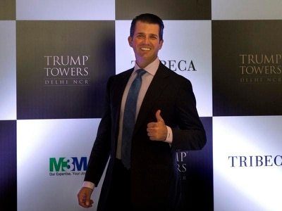Donald Trump Jr arrives in India to help sell luxury apartments