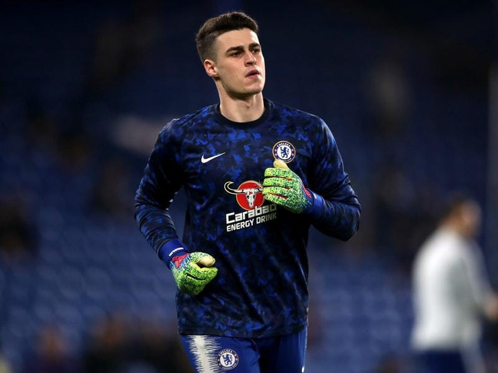 Image result for kepa arrizabalaga bench