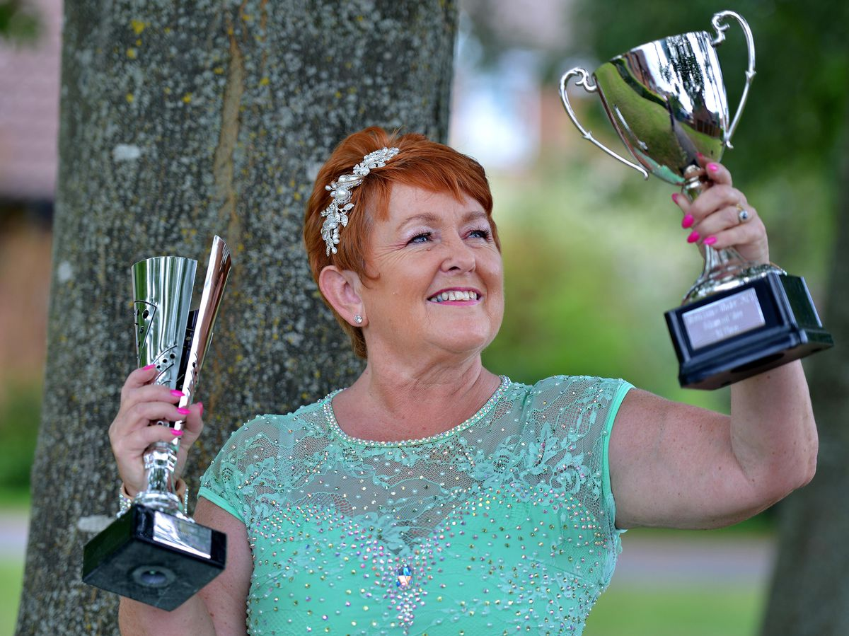 Joyce Plaskett from Market Drayton has just achieved the highest accolade in line dancing with 'All Star' status, in just four years