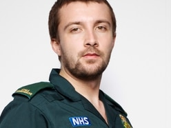 West Midlands Ambulance call assessor snapped in top photographer Rankin's Covid NHS collection