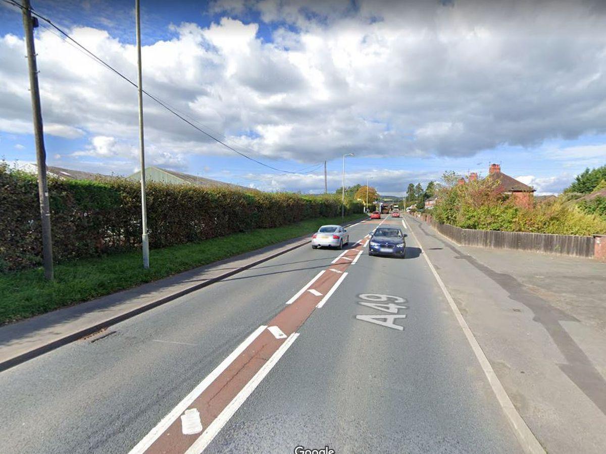 A49 at Craven Arms. Photo: Google