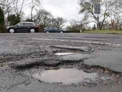 Pothole claims against Shropshire Council rise by 186 per cent in one year