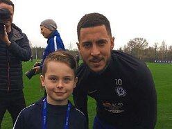 Meeting with Chelsea idols for Market Drayton youngster Oliver