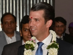 Trump Jr declares 'love' for Indian media during controversial business trip