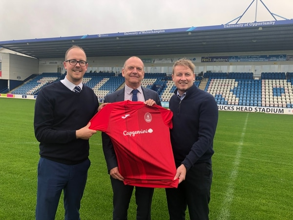 AFC Telford United and University of Wolverhampton join forces for third year
